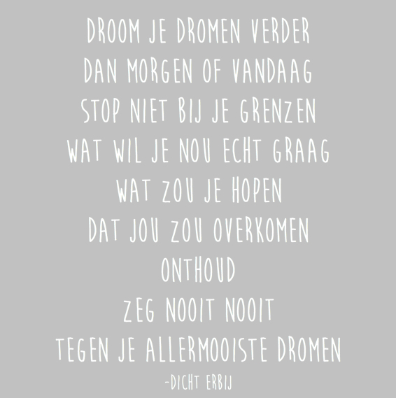 Citaten Over Dromen : Dromen
