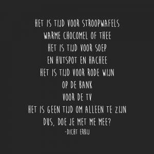 grappig liefdesgedicht